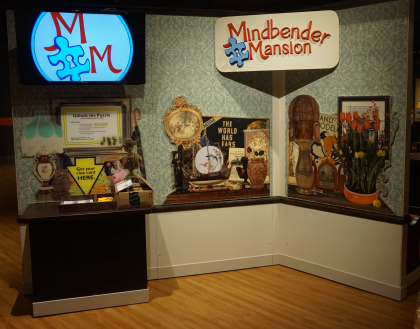 Mindbender Mansion Entry