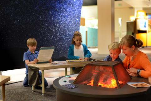 Fire Pit Story Area