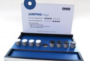 Jumping Pegs