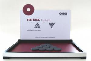 Ten-Disk Triangle